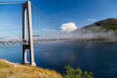 Kvalsund bridge — Stock Photo