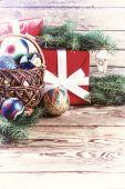 Vintage Christmas background 02 — Stock Photo