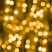 Golden holiday background — Stock Photo