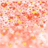 情人节的背景 — 图库照片