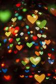 Valentine bokeh — Stock Photo