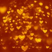 Alla hjärtans bokeh — Stockfoto