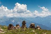 雄大な山々 — ストック写真