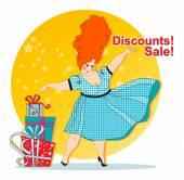 Discounts. Sale. — Stock Vector
