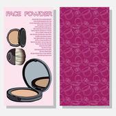 Leaflet with improved formula powder — Stock Vector