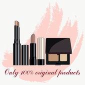 Concealer cosmetic — Stock Vector