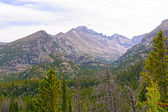 Dramatic Peaks in the Rocky Mountains — Stock Photo