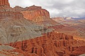 Dramatic Cliffs in the American West — Stock Photo