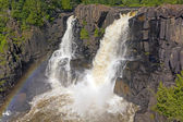Spectacular Falls in the North Woods — Stock Photo