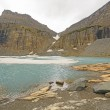 Icy Alpine Lake in the Fall — Stock Photo #76578495