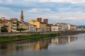 Vue panoramique de florence, italie — Photo