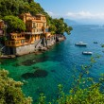 Portofino village on Ligurian coast in Italy — Stock Photo #60640257