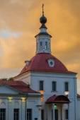 Ансамбль здания кафедральной площади в коломенском Кремле. Коломна. Россия — Стоковое фото