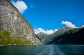 The Beautiful Norway landscape at summer — 图库照片