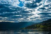 The Beautiful Norway landscape at summer — Stock Photo