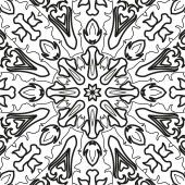 Abstract seamless outline pattern — Foto de Stock