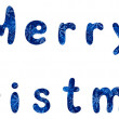 Lettering holiday Merry Christmas — Stock Photo #55252417