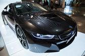 Photo of black BMW series i8 innovation car — Stock fotografie