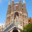 La Sagrada Familia, the cathedral designed by Antoni Gaudi — Stock Photo #52286919