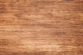 Background photo texture of brown wooden board — Stock Photo