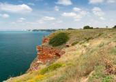 Bulgaria, Black Sea coast. Stones of Kaliakra headland — Stock Photo