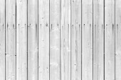 Seamless background texture of white wooden boards wall — Fotografia Stock
