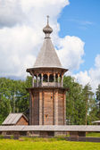 Russian wooden Church of the Intercession. Nevsky forest Park. St.-Petersburg — Stock Photo