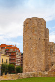 The Roman circus. Ancient stone tower in Tarragona, Spain — Stock Photo