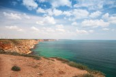 Bulgaria, Black Sea Coast. Coastal landscape, Kaliakra headland — Stock Photo