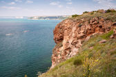 Bulgaria, Black Sea. Coastal landscape of Kaliakra headland — Stock Photo