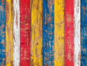 Colorful wooden wall. Seamless background texture — Stock Photo