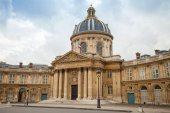 Institute de France in Paris, France — Stock Photo