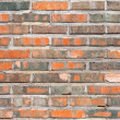 Seamless background texture of old red brick wall — Stock Photo #56177181