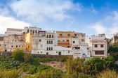 Medina of Tangier, Morocco. Old colorful living houses — Stock Photo