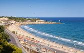 Central city Beach of Tarragona, Spain — Stock Photo