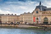 Paris, France, facade of the Orsay modern art Museum — Stock Photo