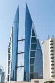 Bahrain World Trade Center, Manama city — Stock Photo