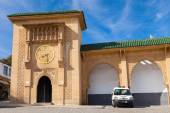 Facade of Sidi Bou Abib Mosque in Tangier, Morocco — Stock Photo