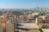 точка зрения птицы на манаму, столица бахрейна — Стоковое фото