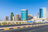 Shaikh Hamad Causeway. Manama, Bahrain — Стоковое фото