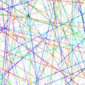Chaotic blurred colorful lines pattern digital background — Stock Photo