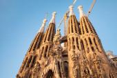 Sagrada Familia, cathedral designed by Antonio Gaudi — Foto Stock
