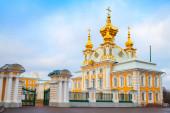 Church of Saints Peter and Paul in Peterhof — Stockfoto