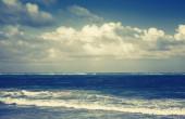 Dramatic sea landscape, Atlantic ocean coast — Stock Photo