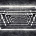 Abstract dark concrete surreal tunnel interior background — Stock Photo #69097567
