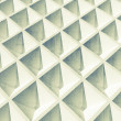 Abstract architecture background. White square 3d pattern — Stock Photo #69388087