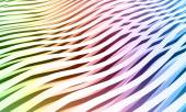 Colorful abstract wave stripes background — Stock Photo