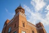 Exterior of Castell dels tres dragons, Barcelona — Stock fotografie