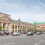 Nevsky prospect, Great Gostiny Dvor — Stock Photo #74531177