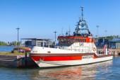 Beredskapsbåt Jenny Wihuri står förtöjd i Helsingfors — Stockfoto